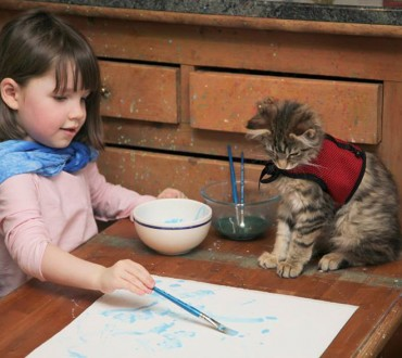 Young Girl With Autism and Her Therapy Cat Are Adorable