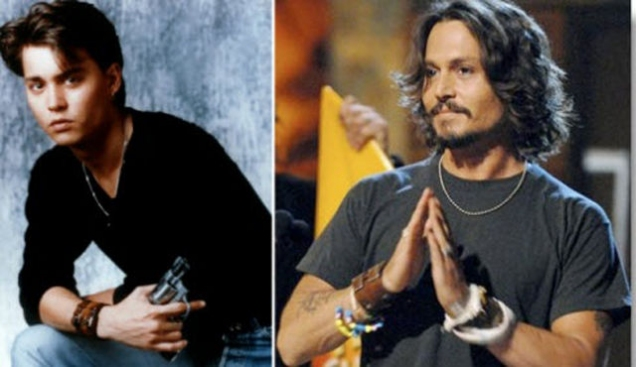 20 Celebs and How They Aged Over The Years