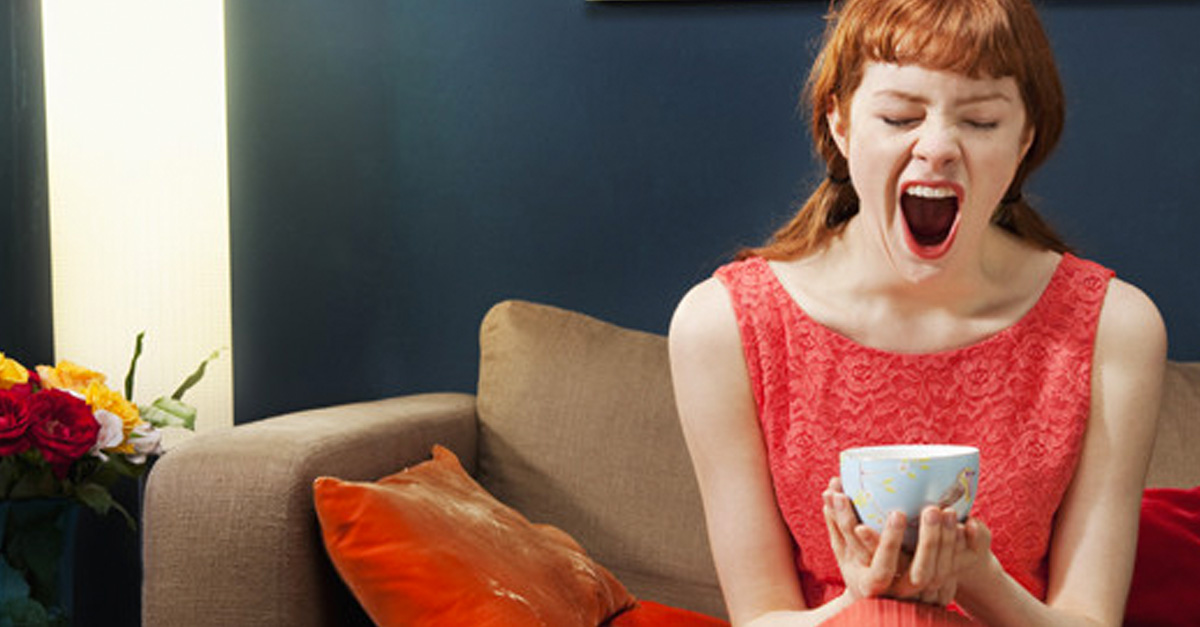 the process and reasons for yawning