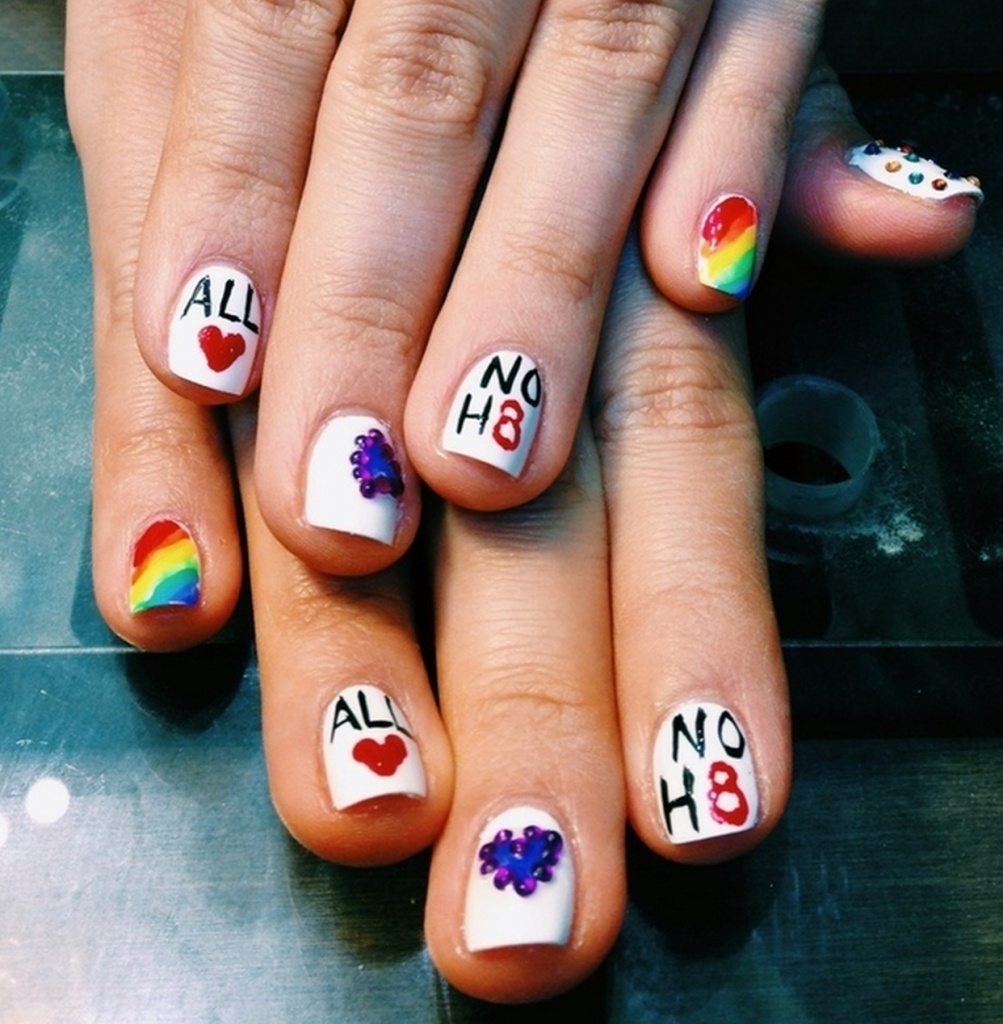 Pride Nail Designs: 27 Amazing Sets Of Nail Art Design