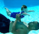 This 7 Month-Old Baby Is Swimming Underwater! Wow!
