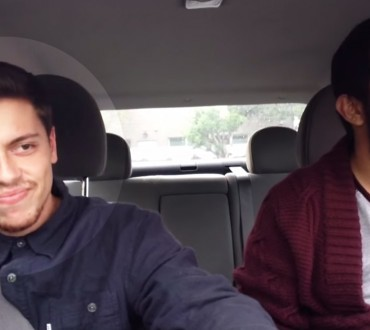 His Friend Turned On The Stereo Then Started To Sing. The Rest Will Have You In Stitches The Whole Way Through
