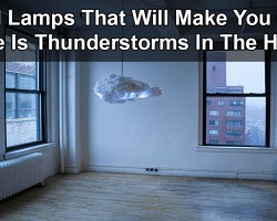 Cloud Lamps That Will Make You Think There Is Thunderstorms In The House
