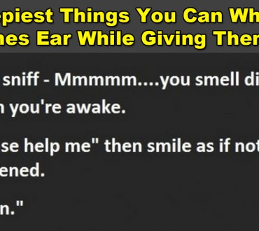Next Time You Give Someone a Hug, Whisper One of These in Their Ear