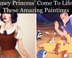 Artist Shows Us What 15 Disney Princess' Would Look Like In Real Life