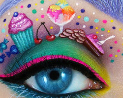Beautiful Eye Make Up Art