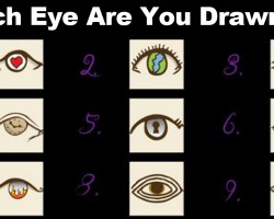 Choose an Eye And See What it Reveals About You – Scarily Accurate Personality Test