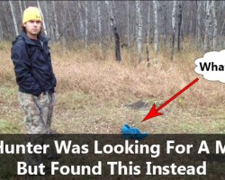 Hunter Thought He Caught a Moose But What He Really Found Was A Huge Surprise