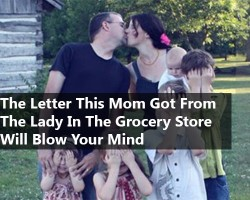 You'll Never Believe the Letter One Woman Wrote to the Lady Behind her in Line at the Grocery Store
