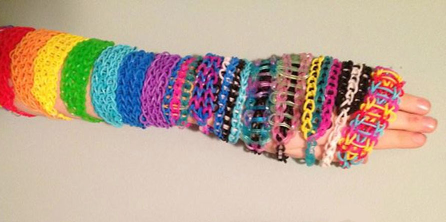 making bracelets with a loom Bangle and Bracelets