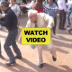 Old Man Throws Aside Walking Sticks to Bust a Move on The Dancefloor