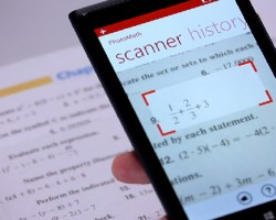 Point-and-Shoot App Solves Math Problems