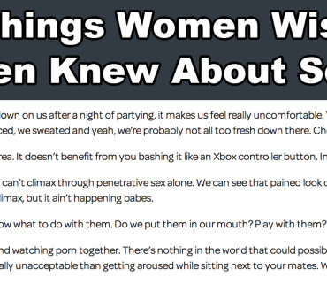 24 Things Women Wished Men Knew in The Bedroom Department