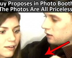Guy Proposed in Photo Booth. The Resulting Photos Are Brilliant