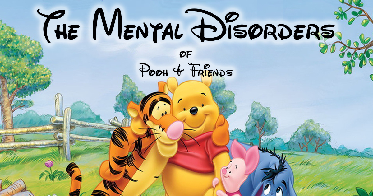Cartoon Characters Mental Disorders : Winnie the pooh characters mental disorders imgkid