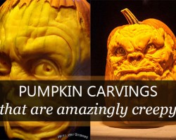 The Man Who Makes the Freakiest Pumpkin Carvings