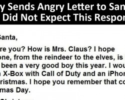 Kid Writes Angry Letter to Santa. This Was Santa's Response