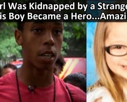 Heroic Boy Saves Kidnapped Girl