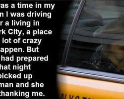 A Cab Ride Never To Be Forgotten. Very Moving