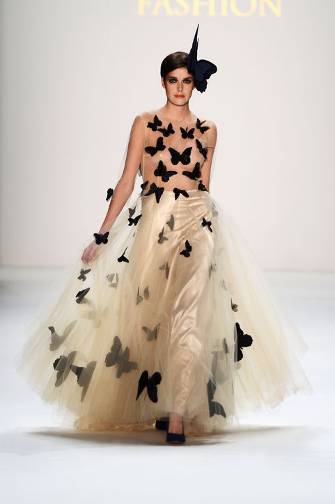 1 Crazy Erfly Wedding Dress 0117 H724
